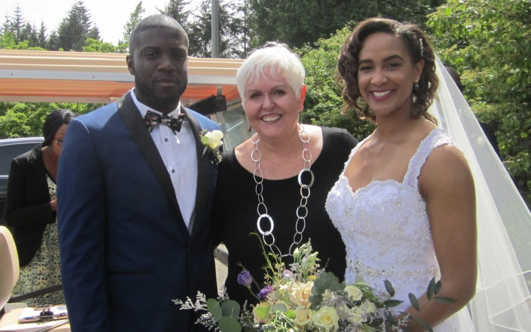 Gabrielle And Dwight Tie The Knot!